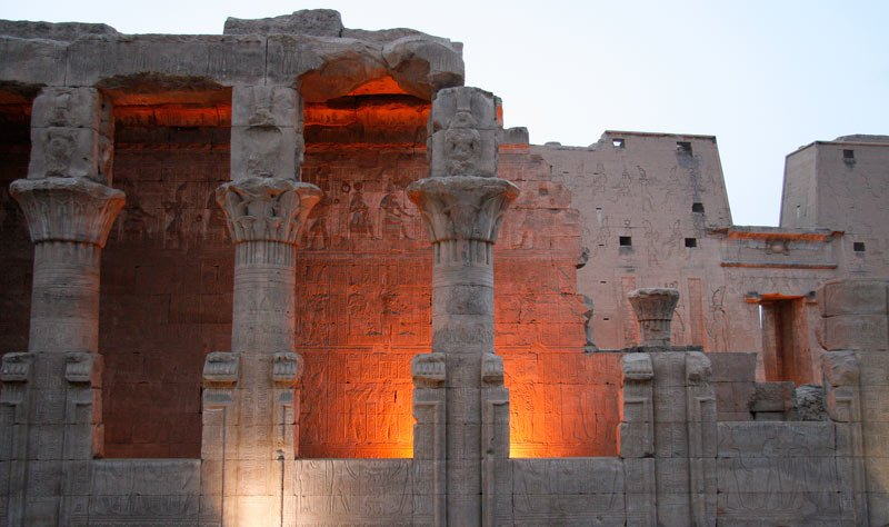 Edfu Temple in Egypt