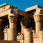 Ancient Egyptian temples and tombs honor the gods