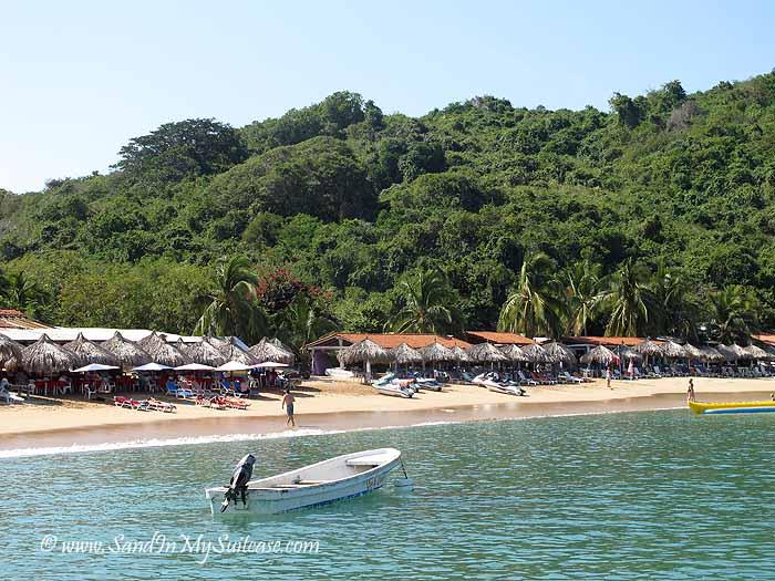 Zihuatanejo beaches - Isla Ixtapa