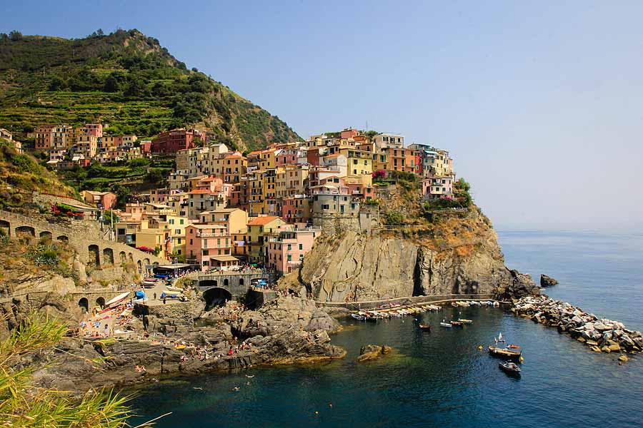top yachting destinations - Manarola Cinque Terre