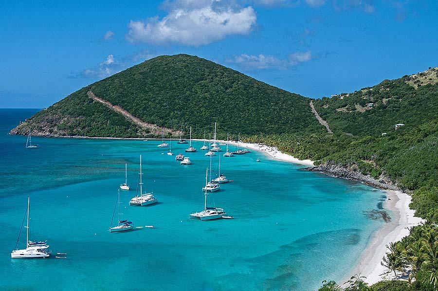 top yachting destinations - British Virgin Islands