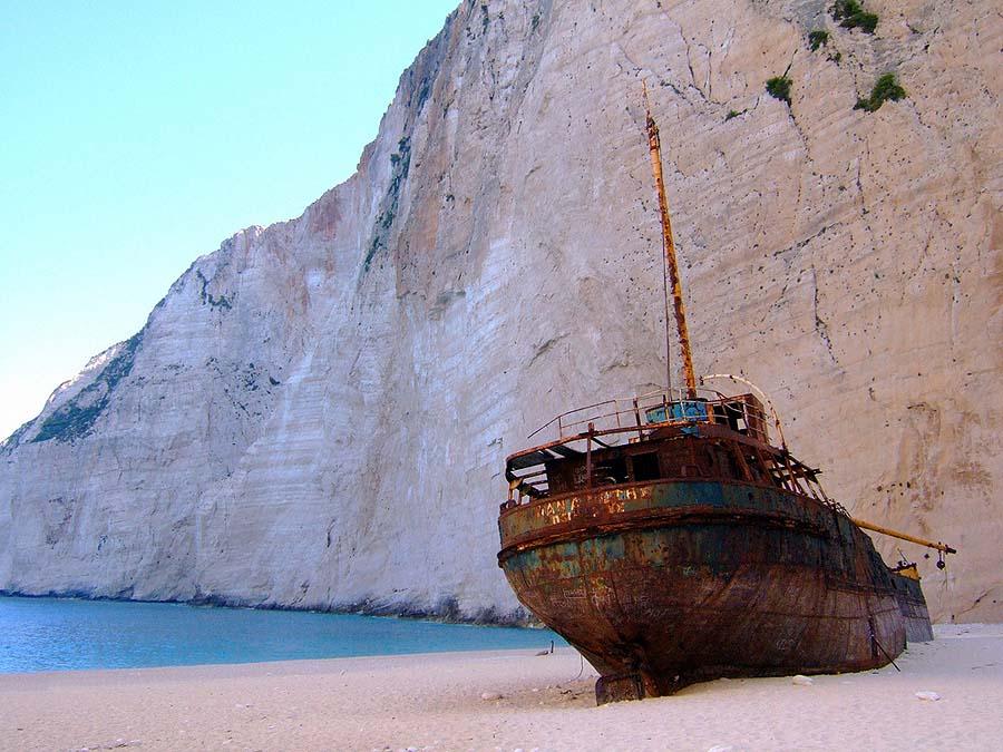 top yachting destinations - Navagio Beach