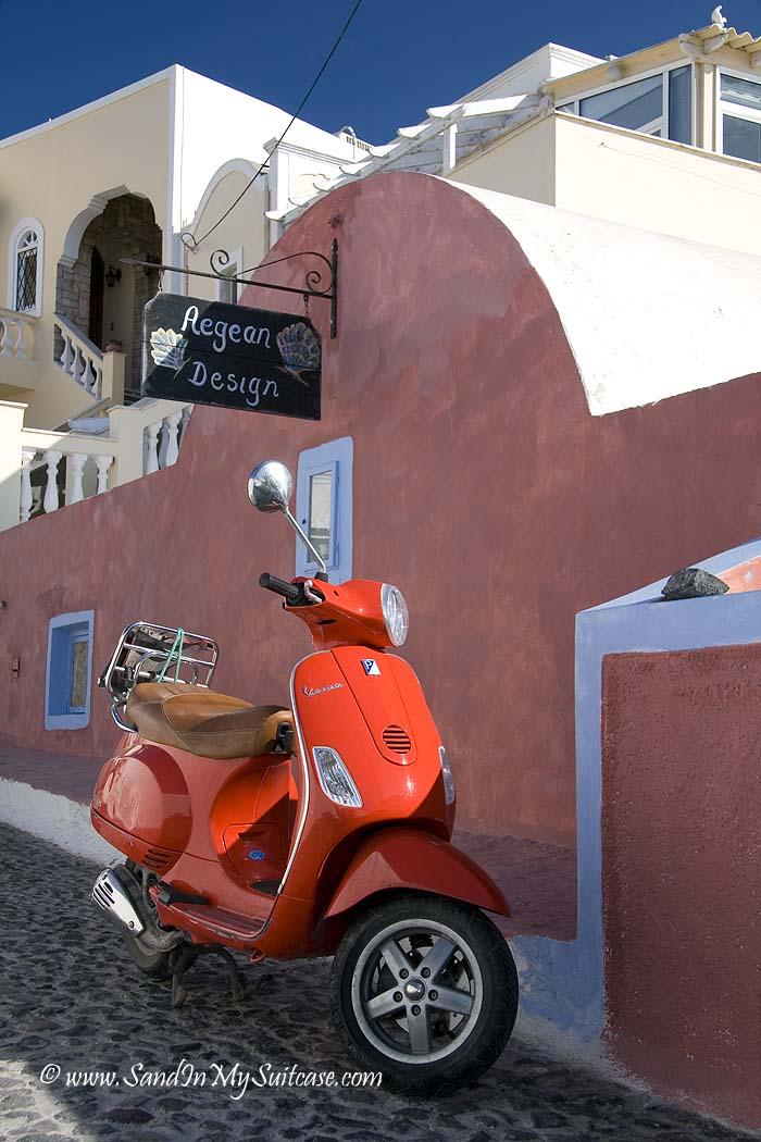top yachting destinations - Santorini