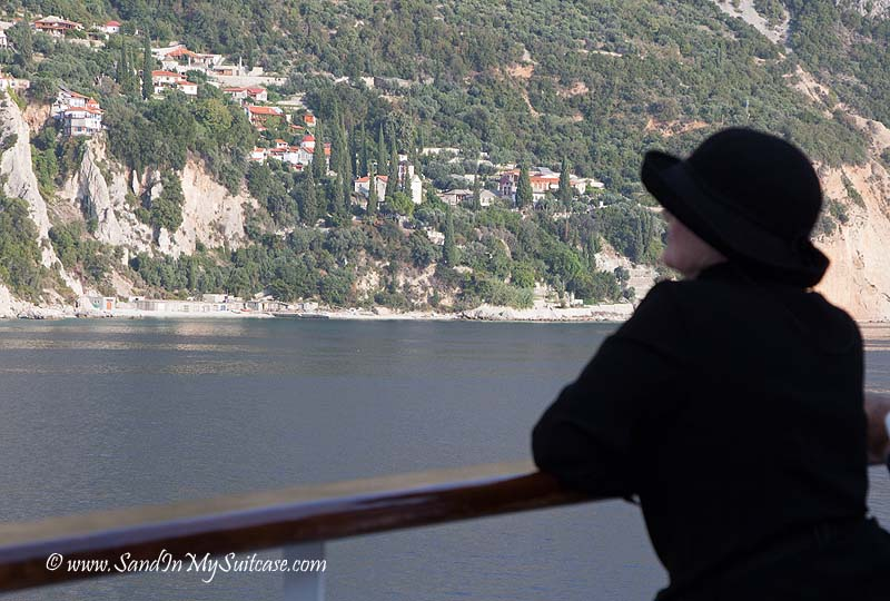 Voyages to Antiquity cruise - Mount Athos