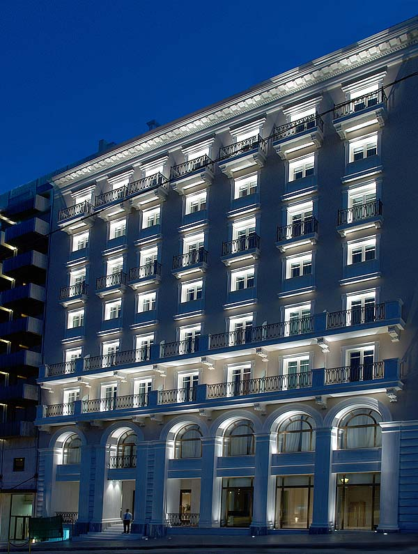 The King George is one of Athens' most luxurious hotels - photo King George