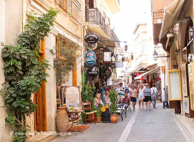 Voyages to Antiquity cruise - Rethymnon shopping