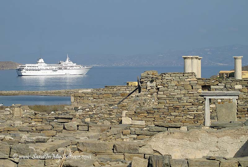 Voyages to Antiquity cruise - Delos