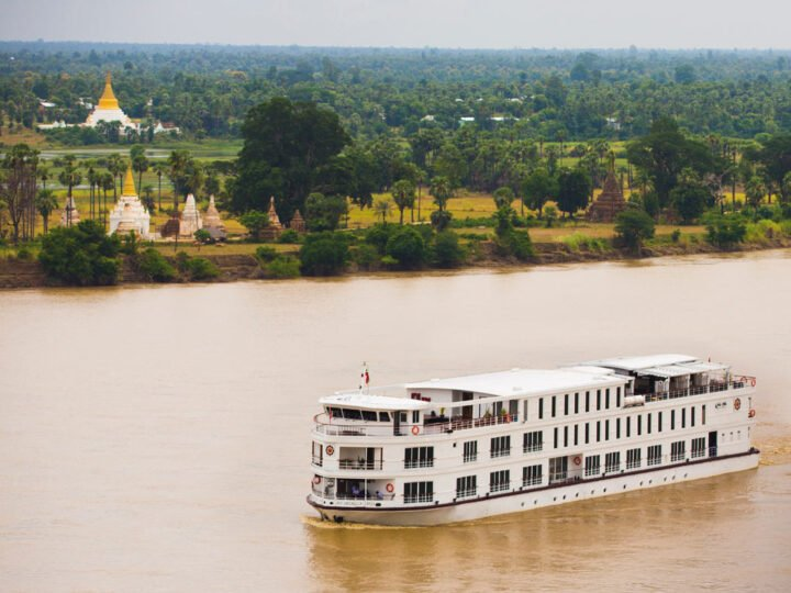 The Belmond Orcaella in Myanmar