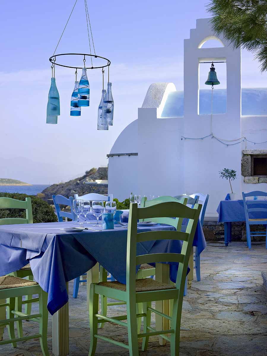St. Nicolas Bay Resort review - Greek restaurant