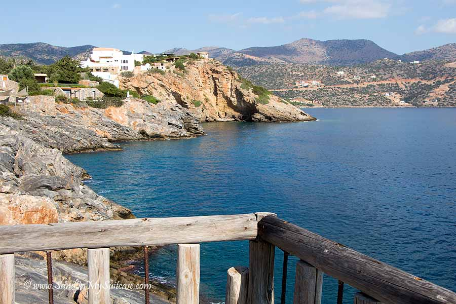 Best hotels in Crete - St. Nicolas Bay Hotel - view of coast