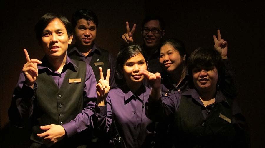 Dine in the dark Bangkok
