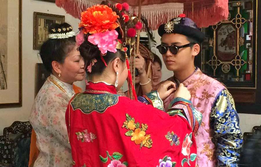 Peranakan Wedding Dress