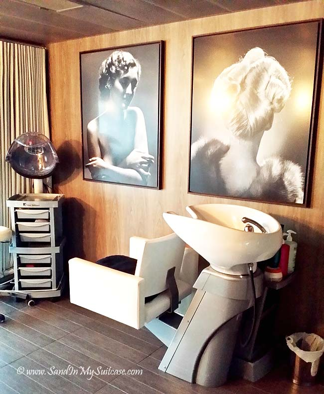 Ponant Cruises - beauty salon