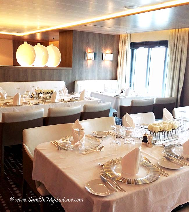 Ponant Cruises - dining room
