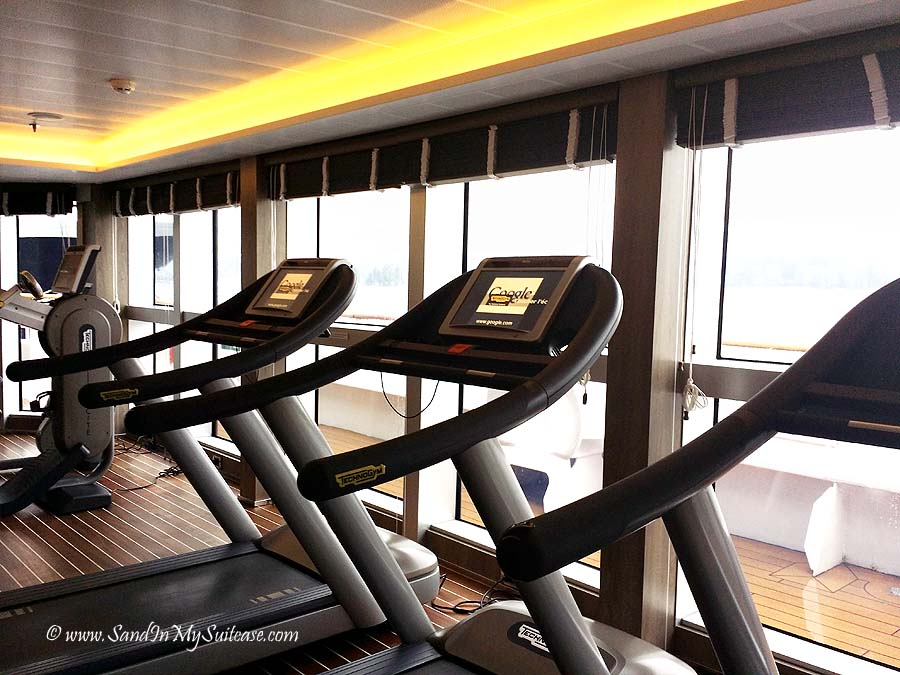 Ponant Cruises - gym