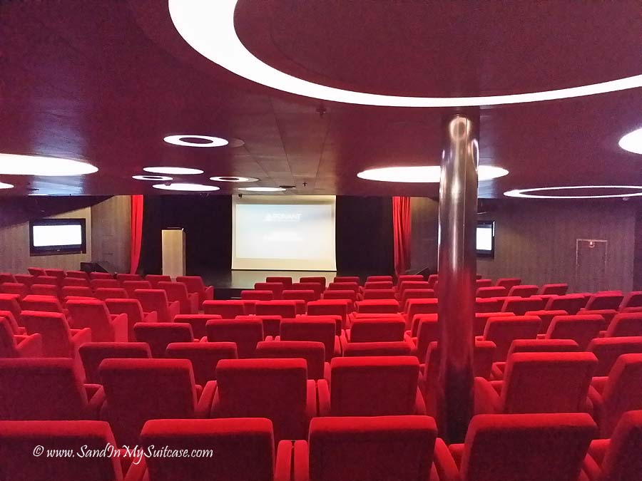 Ponant Cruises - theater