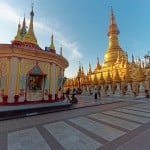 Snapshot Story #16: Myanmar's Shwesandaw Pagoda is bigger than the Shwedagon!