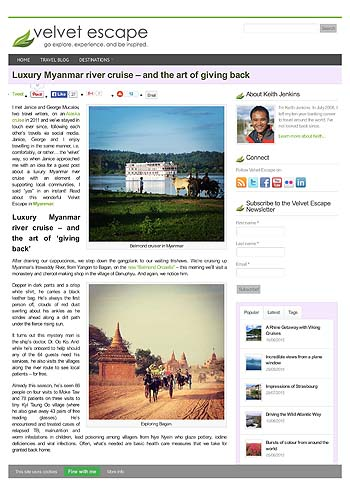 Luxury Myanmar river cruise and the art of giving back (Velvet Escape, 2015)-page-001