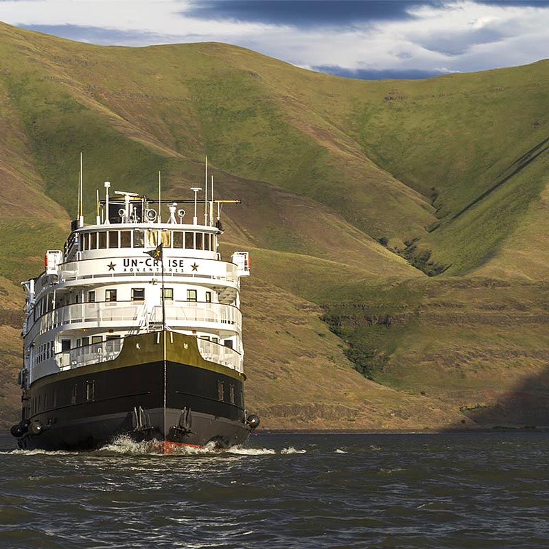 North America river cruises with UnCruise Adventures