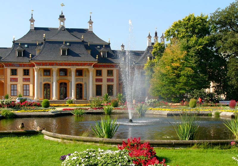 Dresden attractions - Pillnitz Castle