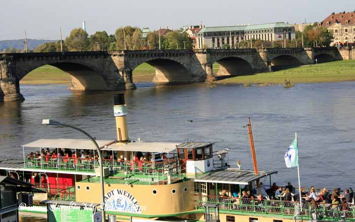 Dresden attractions - Elbe River steamships