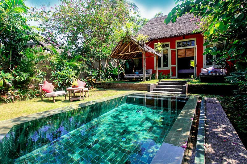 Lombok hotel with private pool