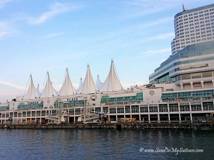 Vancouver cruise port - Canada Place