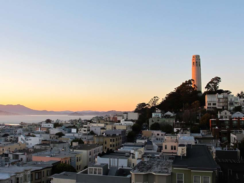 San Francisco neighborhoods - Coit Tower