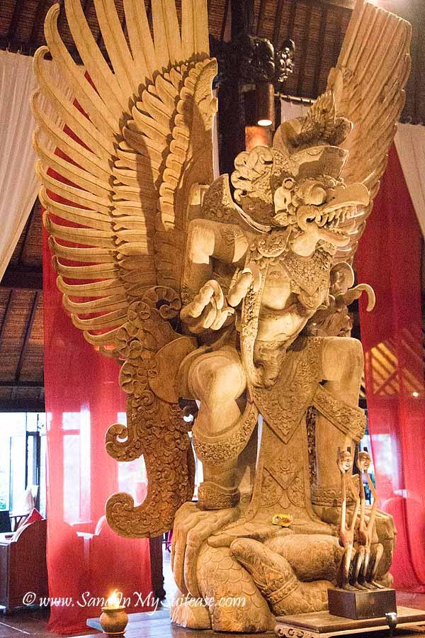 Tugu Bali review - Garuda (sun bird king)