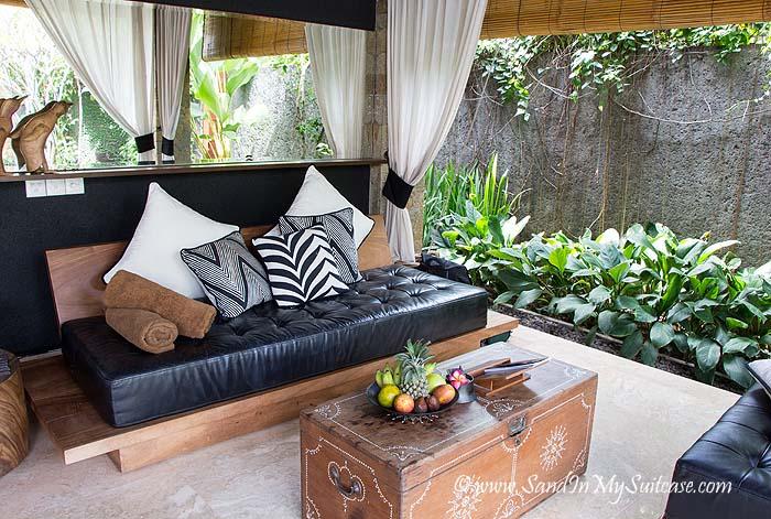 The One Villas - living room