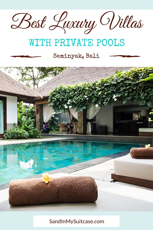 villas in Seminyak with private pool
