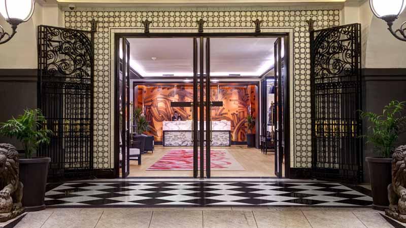 Four Seasons Hotel Mexico City renovation lobby