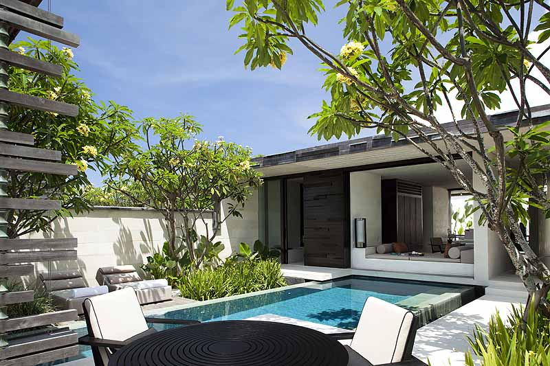 The one-bedroom villas are larger than 3,000 sq. feet - photo Alila Villas Uluwatu