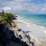 The ancient Mayan ruins of Tulum