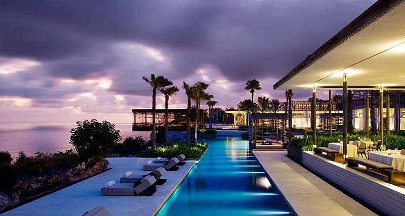 Best Luxury Hotels In Bali Alila Villas Uluwatu
