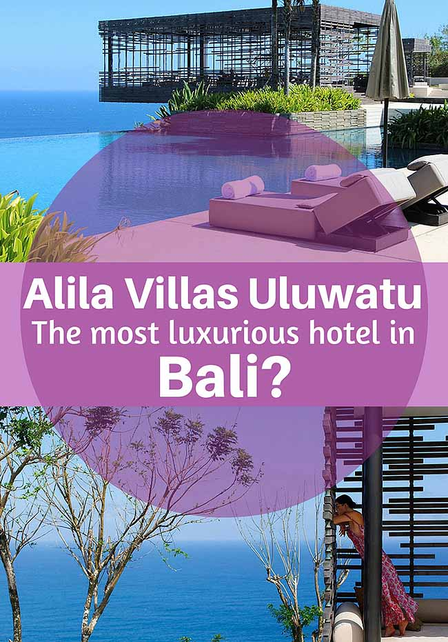 Alila Villas Uluwatu is possibly the most luxurious hotel in Bali!