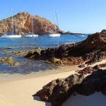 There's great snorkeling at Santa Maria Beach in Cabo San Lucas!