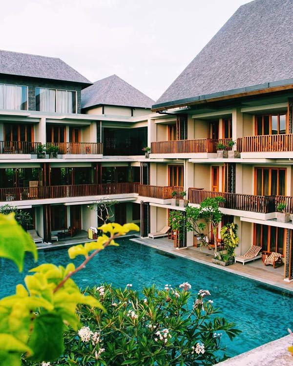 The Haven, a Canggu hotel, is one of the best luxury hotels in Bali