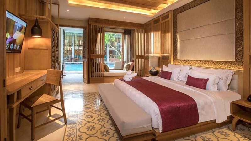 Bali surf hotel: The Haven Suites Berawa