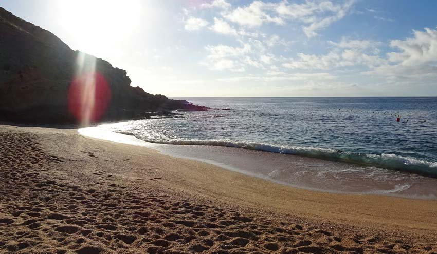 Santa Maria Beach, Los Cabos, early in the morning...