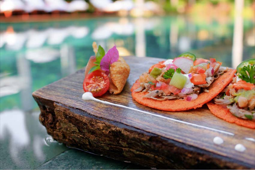 grand velas riviera maya restaurants- pool snack