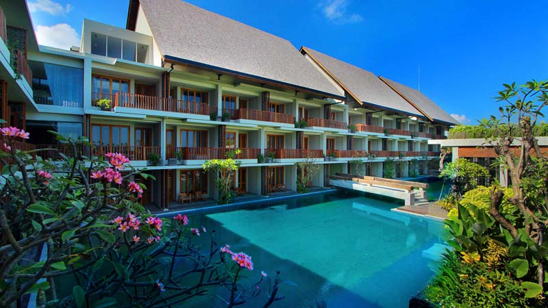 Canggu hotel: The Haven Suites Berawa