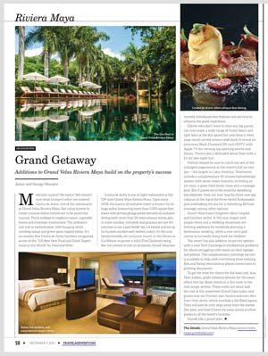 Grand Velas Riviera Maya food