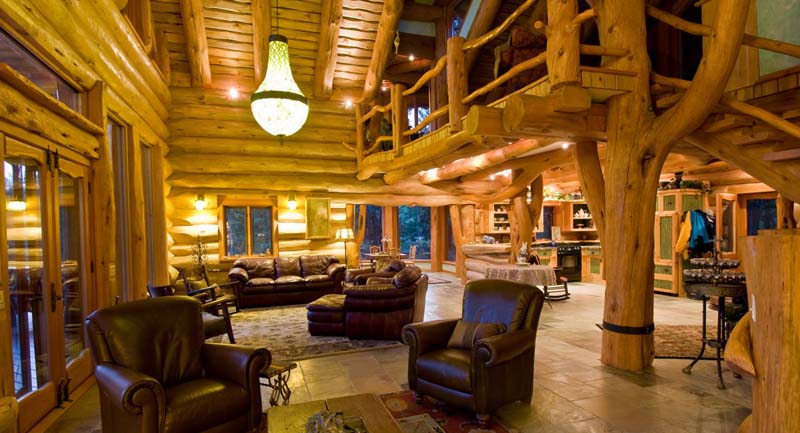 chilko experience - log homes