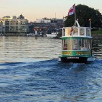 Explore the Gorge on a fun pickle boat with Victoria Harbour Ferry