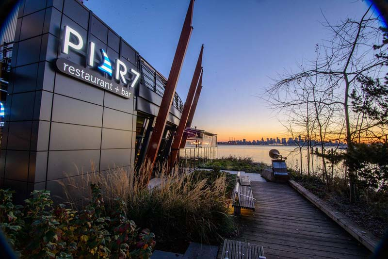 Pier 7 restaurant in North Vancouver