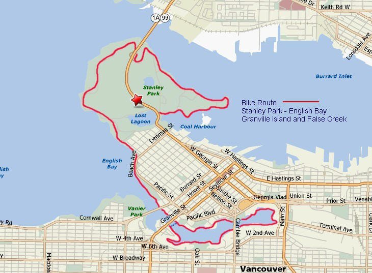 Biking Stanley Park To Granville Island A Fab Vancouver Ride