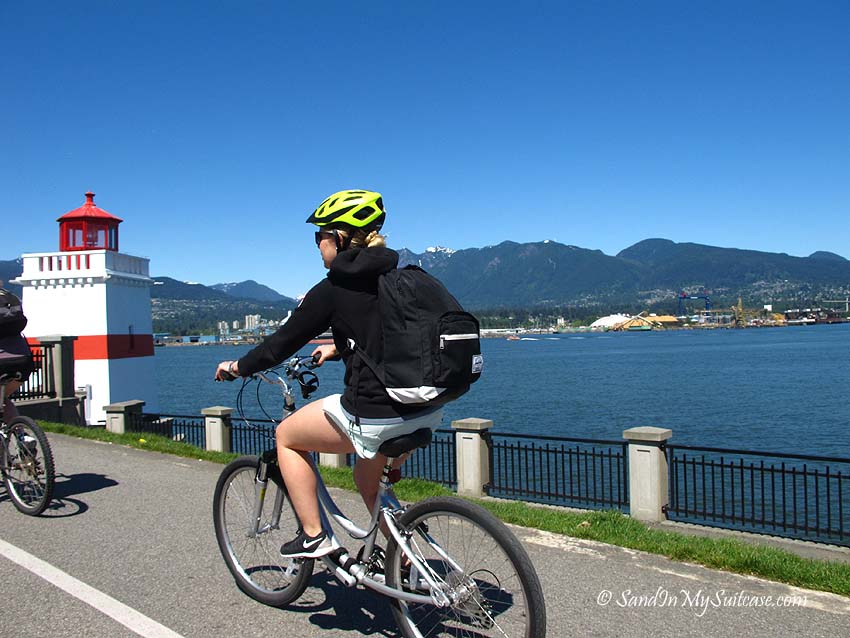 Stanley Park Seawall - bicycling