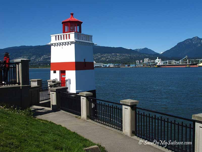 Stanley Park bike route - brockton point