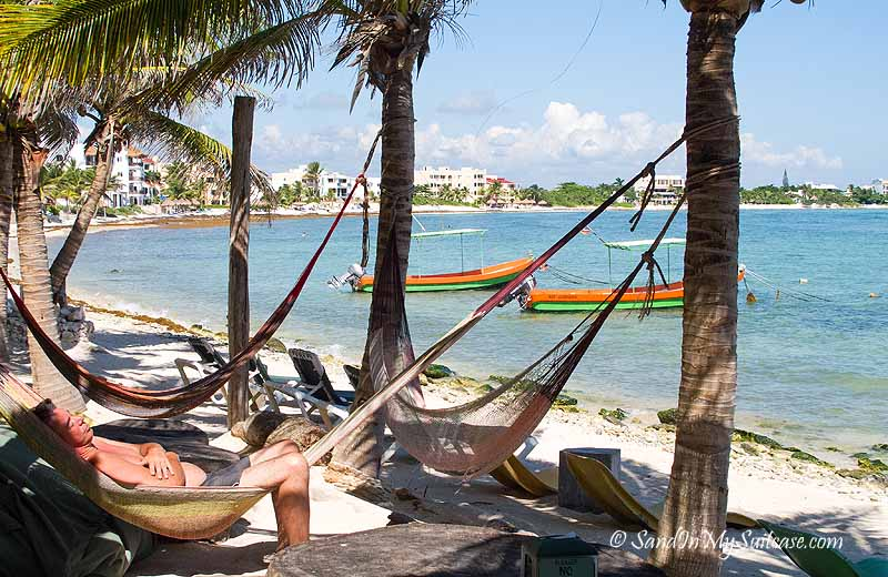 things to do in the riviera maya - chill